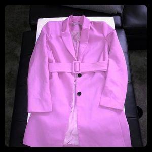 ASOS belted blazer dress (Lilac)